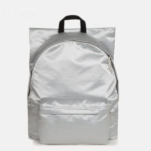 Eastpak Raf Simons Poster Padded Satin Punk Silver Ventes